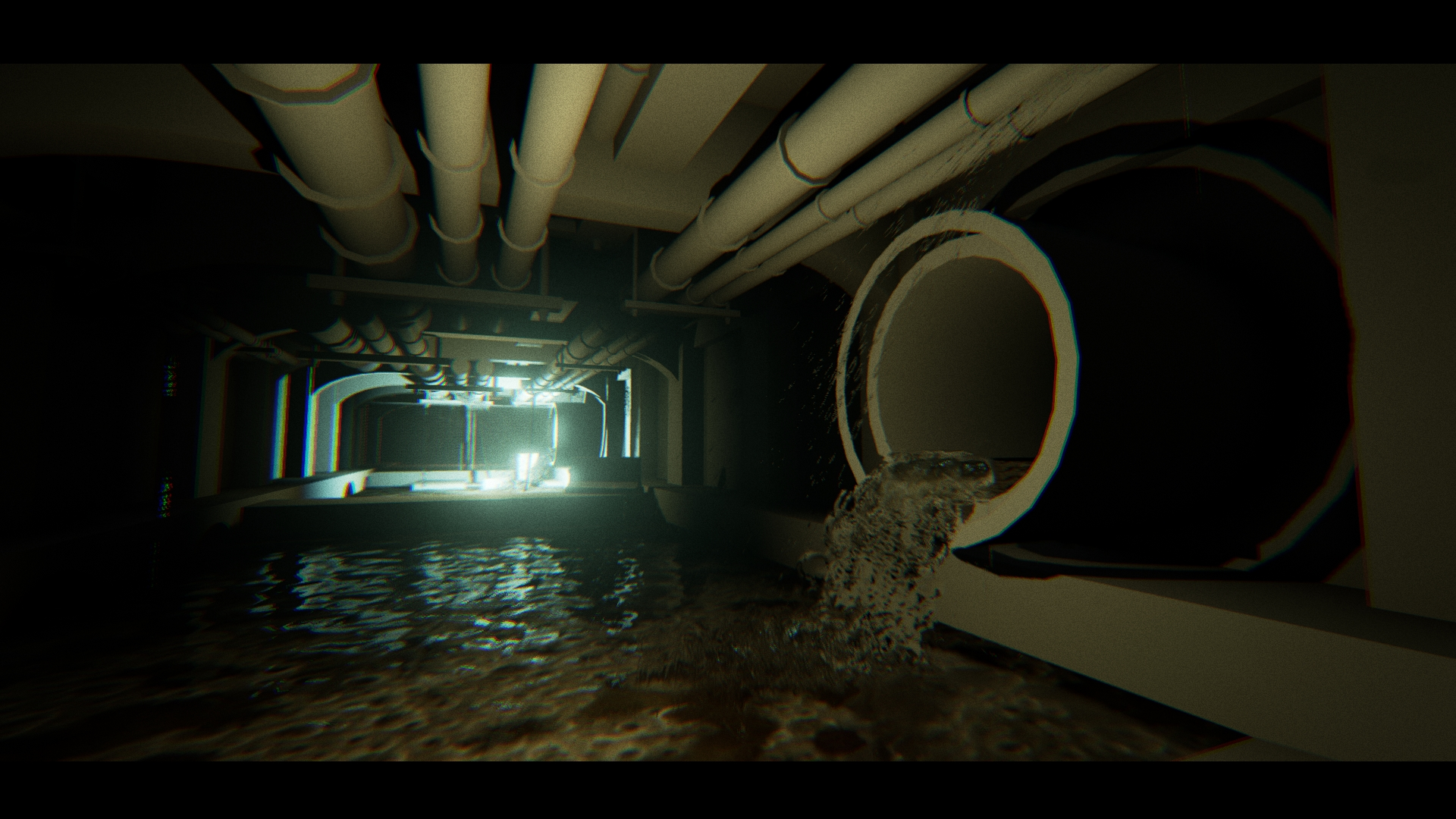 Sewer Tunnel Particles Test indie game developer collaboration find artist programmer musician